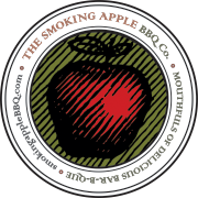 smoking apple logo